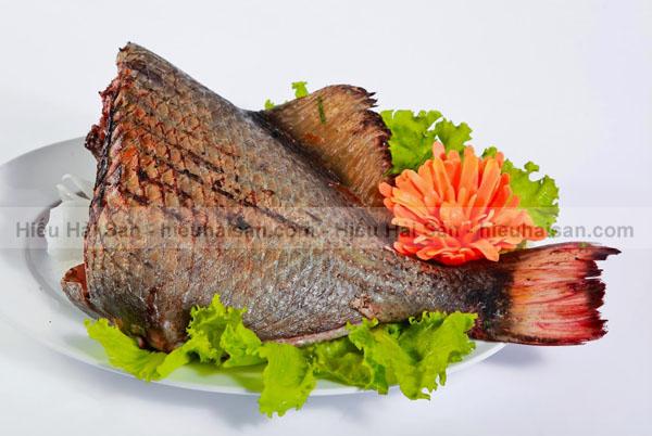 cá bò giáp nướng