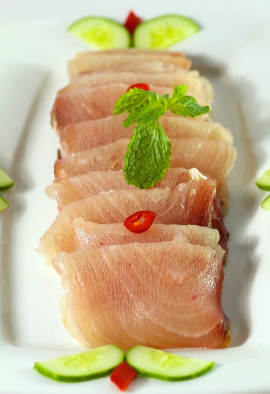 cá ngừ đại dương cắt khúc