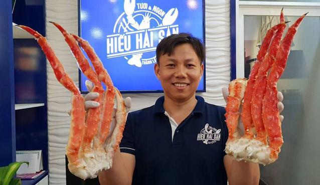 chân cua cua hoàng đế alaska chân cua king crab