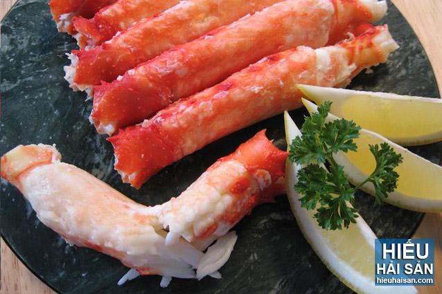 cua hoàng đế alaska king crab sống
