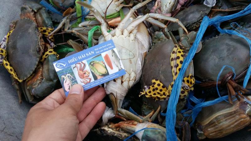 hải sản tươi hàng ngày