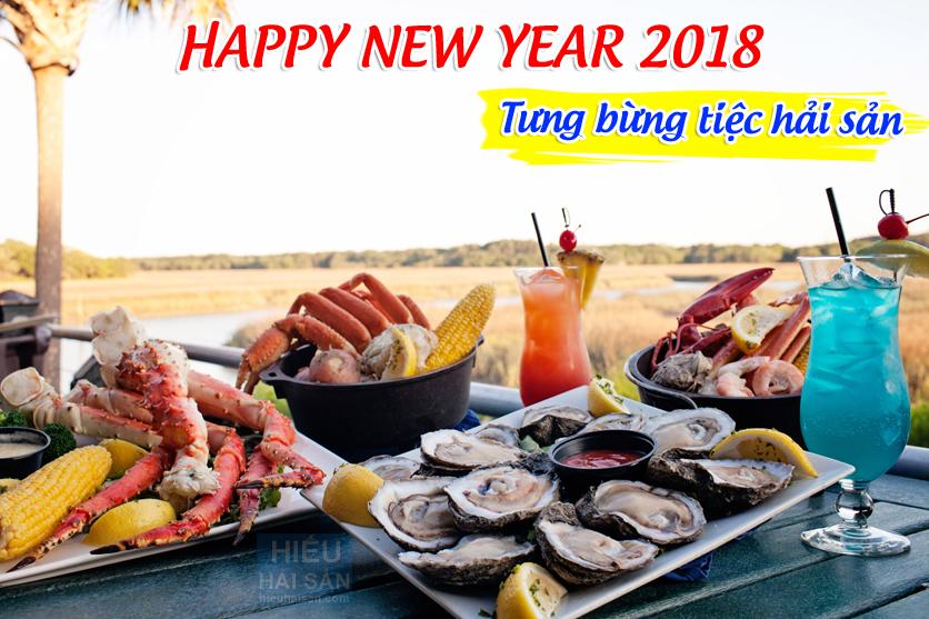 hải sản tươi sống cho năm mới