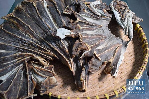 khô cá đuối đen