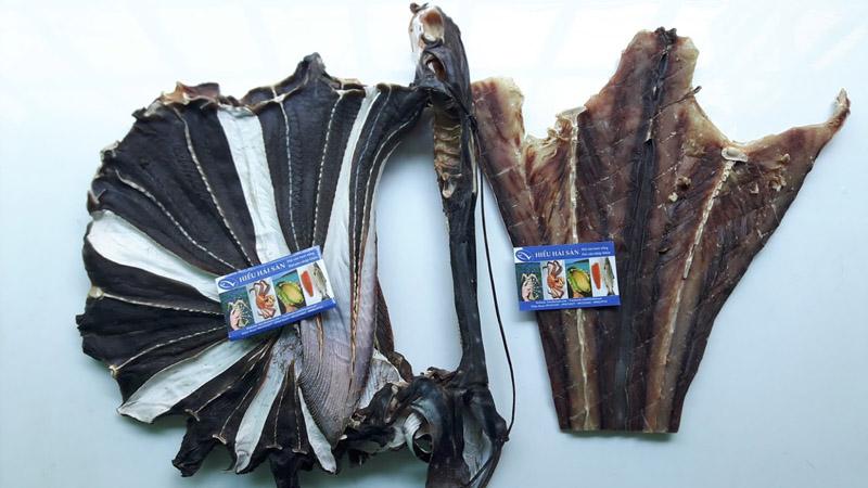khô cá đuối hắc cấy cá đuối đen
