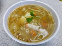 Cách làm món súp măng vi cá ngọt thanh